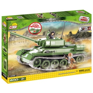 COBI Small Army T-34/85 Multicolor Plastic Tank Building Kit