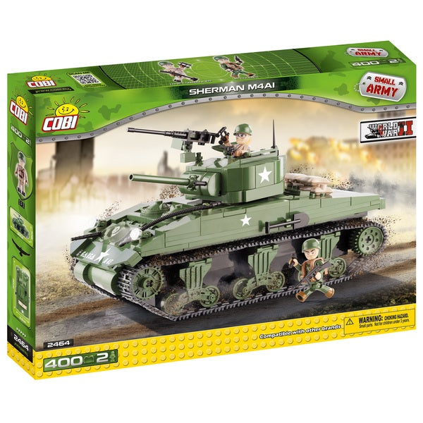 COBI Small Army WW-Sherman M4A1 Tank Building Kit