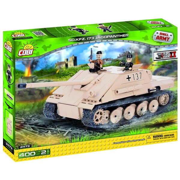 COBI Small Army Jagdpanther Multicolored Plastic Tank-building Kit