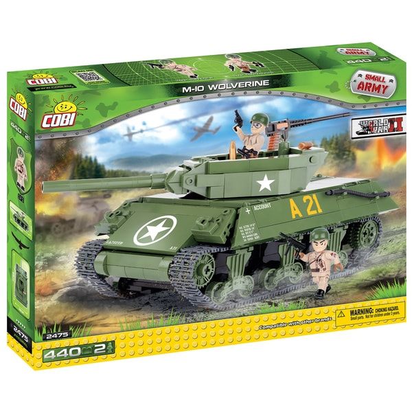 COBI Small Army M10 Wolverine Plastic Kit