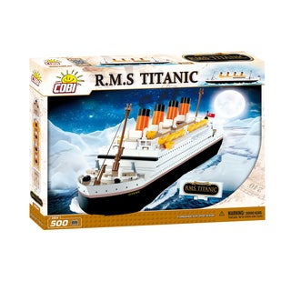 COBI Titanic Plastic 500-piece Building Block Set