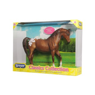 Breyer Chestnut Plastic Hand-painted Appaloosa Model Horse