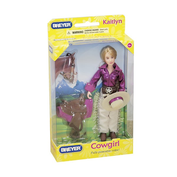 Reeves Breyer Kaitlyn Plastic Cowgirl Doll