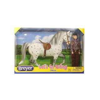 Breyer Let's Go Riding Traditional English Horse Riding Play Set