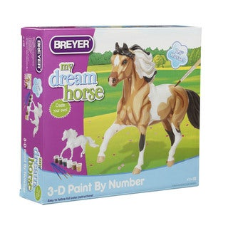 Breyer 3-D Plastic Paint-by-Number Kit