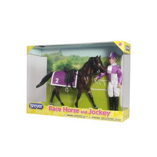 Breyer Race Horse and Jockey Set
