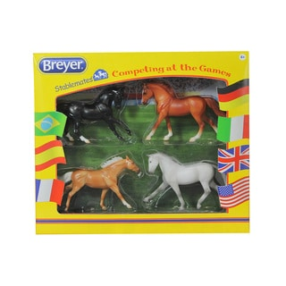 Breyer Stablemates Competing at the Games Set