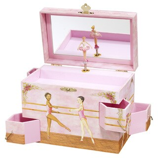 Enchantmints Ballet School Multicolor Music and Jewelry Box