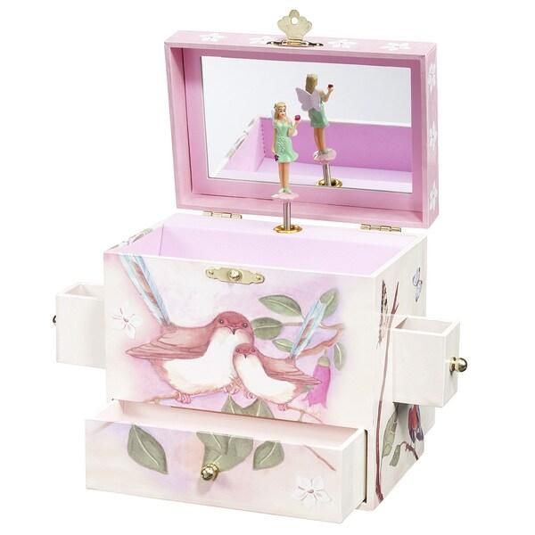 Enchantmints Sweet Fairy Wrens Music Box