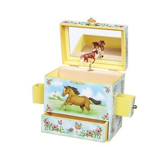 Reeves Enchantmints Wild and Free Multicolor Musical Jewelry Box