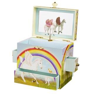 Enchantmints Pegasus Multi-colored Musical Jewelry Box