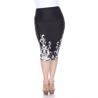 Women's Mark Cynthia Polyester/ Spandex Pencil Skirt
