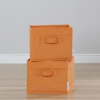 South Shore Morgan Grey Maple 4-Shelf Bookcase With 2 Canvas Storage Baskets