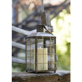 Vintage Nautical Iron Lantern