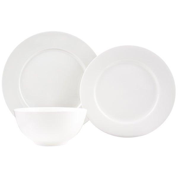 Pure Vanilla Bone China 18-Piece Dinner Set. Opens flyout.