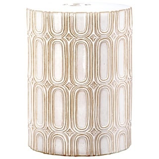 Safavieh Melody Cream Garden Stool