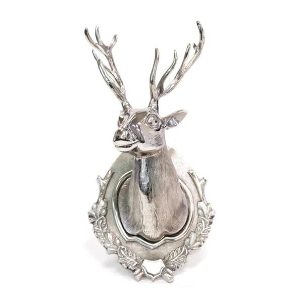 Ten Point Aluminum Deer Head - Hip Vintage Lodge Deer Head