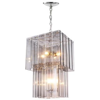 Malva 13-inch x 20.5-inch Large 12-light Glass Ceiling Pendant