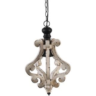 harper metal 1light chandelier