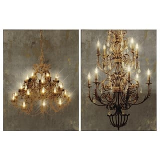 Grand Chandelier LED Canvas Wall Prints (Set of 2)|https://ak1.ostkcdn.com/images/products/11883441/P18780192.jpg?impolicy=medium
