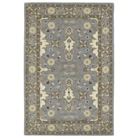Hand-Tufted Perry Grey Wool Rug - 9' x 12'