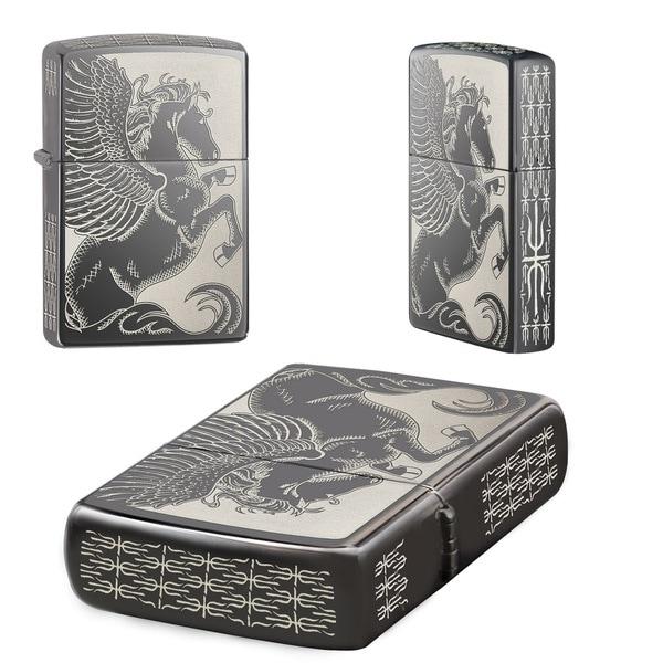 Zippo Pegasus Pocket Lighter