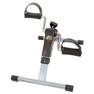 Wakeman Fitness Folding Pedal Exerciser with Electronic Display