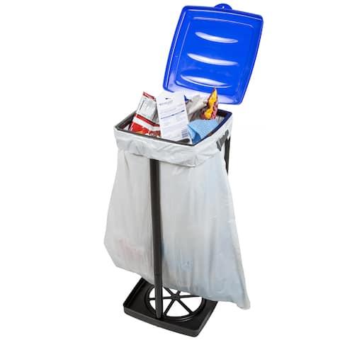Wakeman Outdoors Portable Garbage Trash Bag Holder