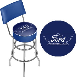 Ford Swivel Bar Stool with Back - The Universal Car