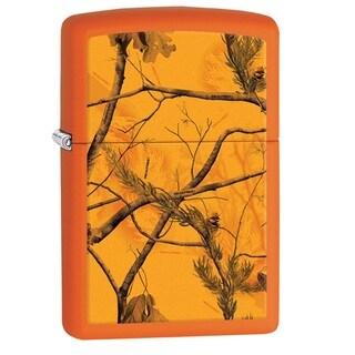 Zippo Orange Multi Realtree AP Blaze Pocket Lighter