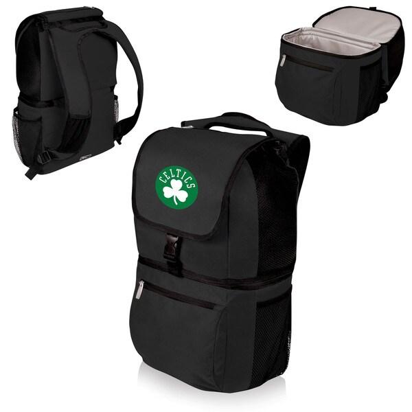 Picnic Time Zuma Boston Celtics Black Polyester and Plastic Cooler Backpack