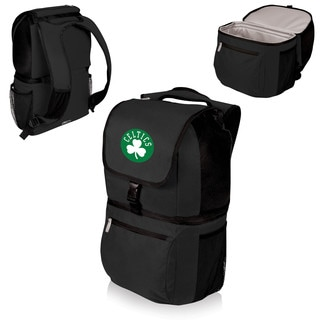Picnic Time Zuma Boston Celtics Black Polyester and Plastic Cooler Backpack