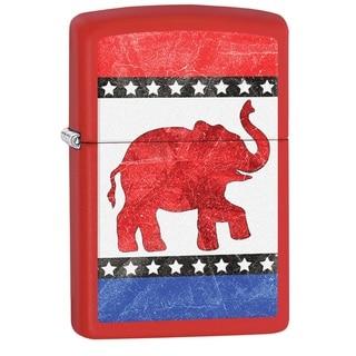 Zippo Republican Elephant Pocket Lighter