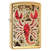 Zippo Scorpion Shell Multicolor Pocket Lighter