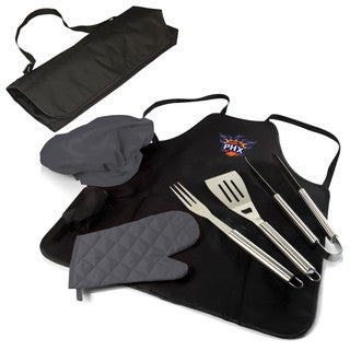 Picnic Time Phoenix Suns Polyester and Stainless Steel BBQ Apron Tote Pro