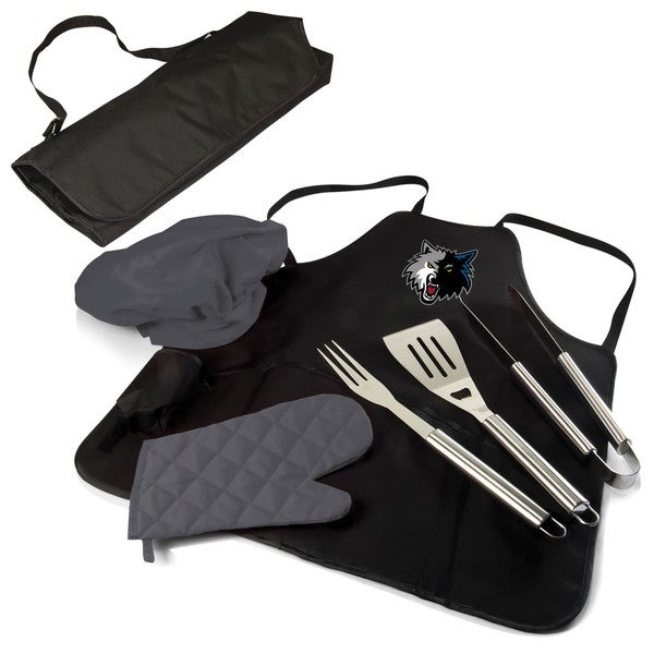 Picnic Time Minnesota Timberwolves Polyester and Stainless Steel BBQ Apron Tote Pro