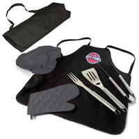 Picnic Time Detroit Pistons BBQ Apron Tote Pro BBQ Set