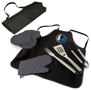 Picnic Time Dallas Mavericks BBQ Apron Tote Pro