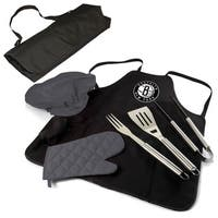 Picnic Time Brooklyn Nets BBQ Apron Tote Pro Grill Set