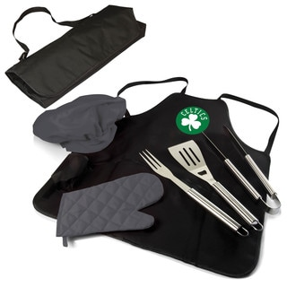 Picnic Time Boston Celtics BBQ Apron Tote Pro