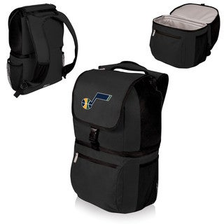 Picnic Time Utah Jazz Zuma Black Polyester Insulated Cooler Backpack