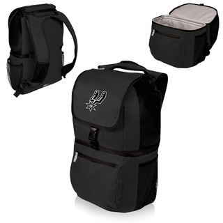 Picnic Time San Antonio Spurs Black Plastic/Polyester Zuma Cooler Backpack