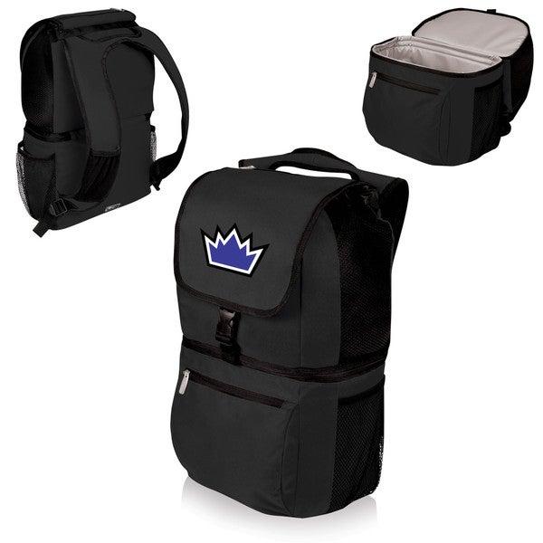 Picnic Time Sacramento Kings Black Polyester Zuma Cooler Backpack