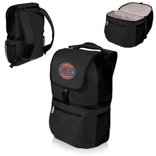 Picnic Time New York Knicks Black Plastic and Polyester Zuma Cooler Backpack
