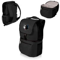 Picnic Time Minnesota Timberwolves Black Polyester Zuma Two-section Cooler Backpack