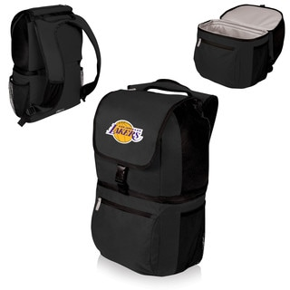 Picnic Time Los Angeles Lakers Black Zuma Cooler Backpack
