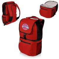 Picnic Time Detroit Pistons Zuma Red Polyester and Plastic Insulated Cooler Backpack