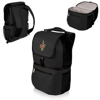 Picnic Time Cleveland Cavaliers Black Polyester Zuma Cooler Backpack