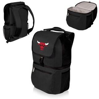 Picnic Time Chicago Bulls Black Polyester Zuma Cooler Backpack