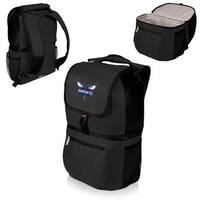 Picnic Time Charlotte Hornets Zuma Black Insulated Cooler Backpack